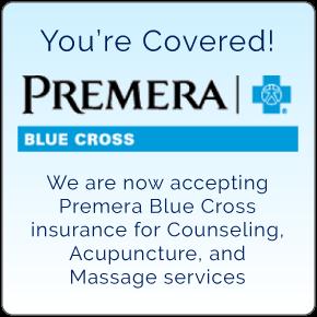 We accept Premera Blue Cross insurance